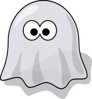 clipart animovaný duch