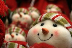 vianoce snehuliak