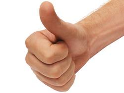 zdvihnuty palec