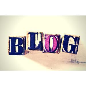 písanie blogu